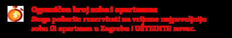 Iznajmljivanje soba u Zagrebu po danu