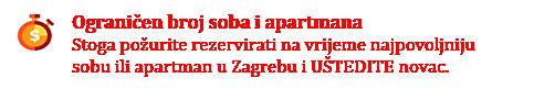 Najam sobe u Zagrebu